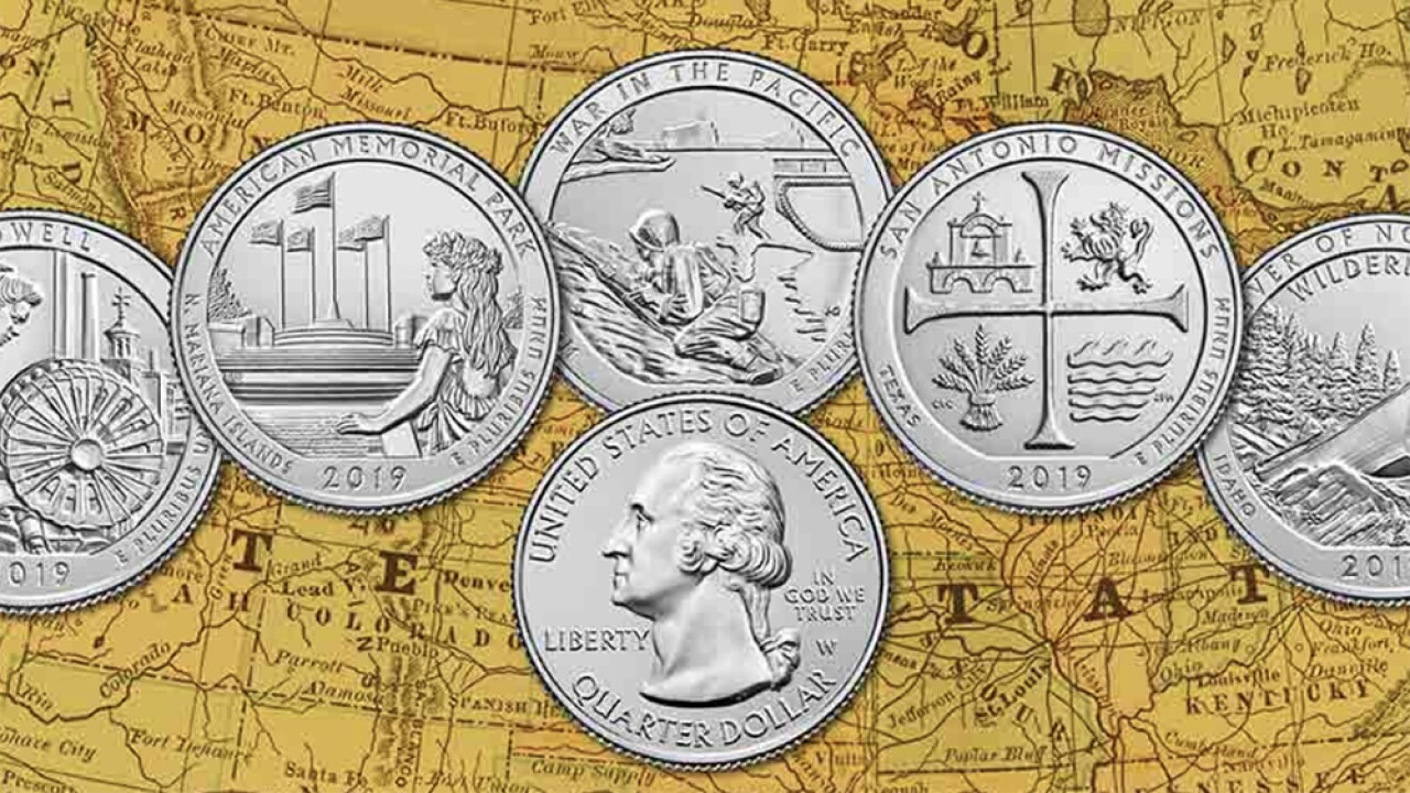 Check your change: New, rare coins to be dropped into circulation during Great American Coin Hunt