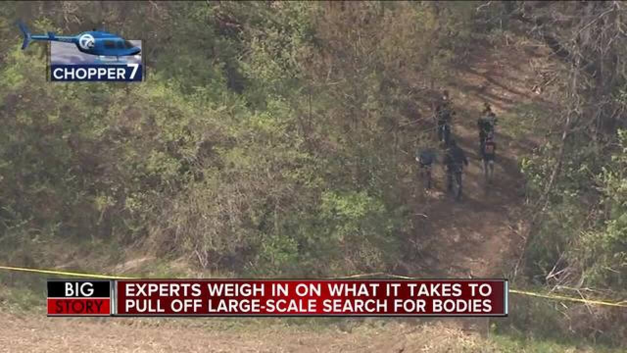 Experts weigh in on Macomb County search