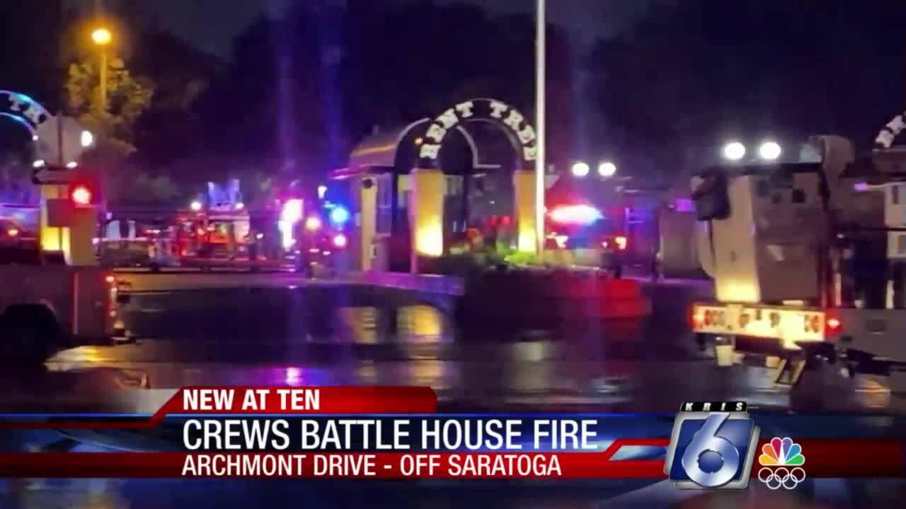 Archmont Drive House fire