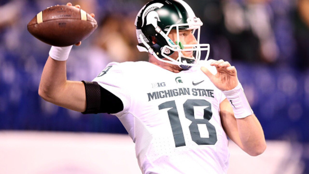 Report: Bills host QB Connor Cook on draft visit