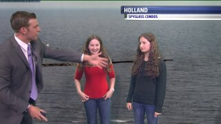 Meet our April Weather Kids, Allison and Anna!