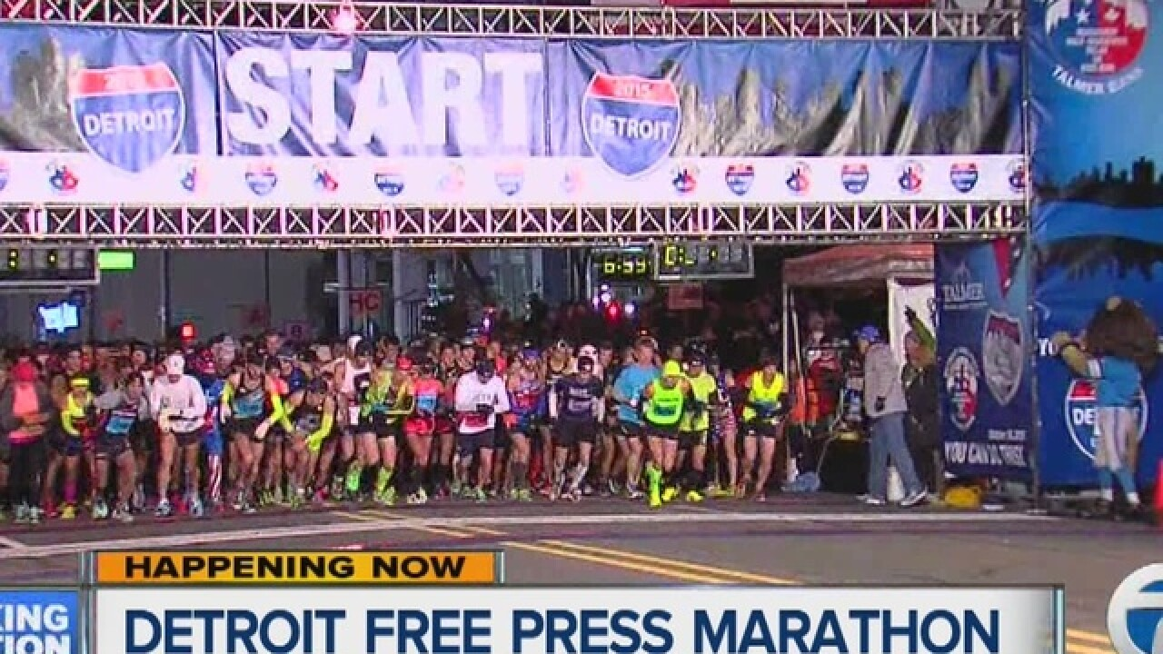 Over 25 000 Expected To Participate In Annual Detroit Free Press Chemical Bank Marathon