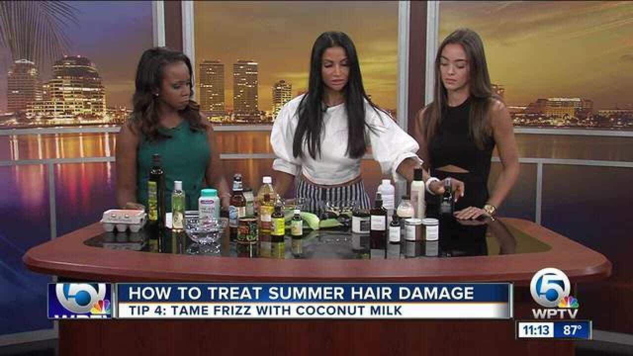 5 tips to treat summer hair damage