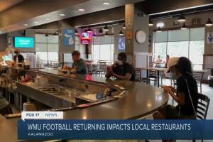 MAC football returns for local businesses