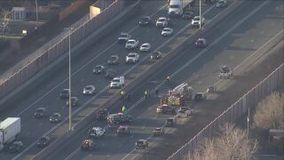 March 31 2021 crash on I-25 at 104thh