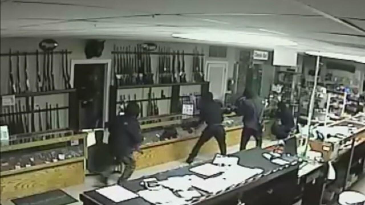 Four Men Wanted In King's Firearms Break-In