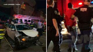 Man arrested for stealing NYPD police vehicle before crashing