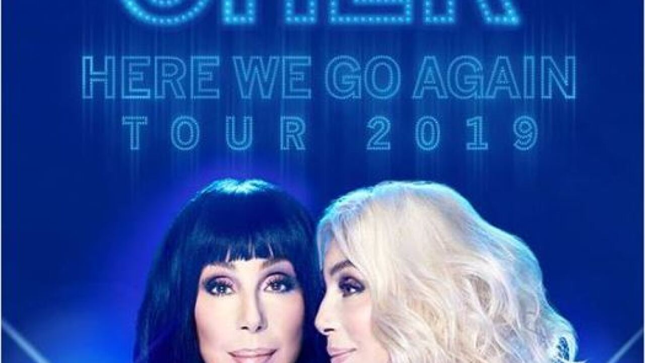 Cher to kick of 2019 tour in Fort Myers
