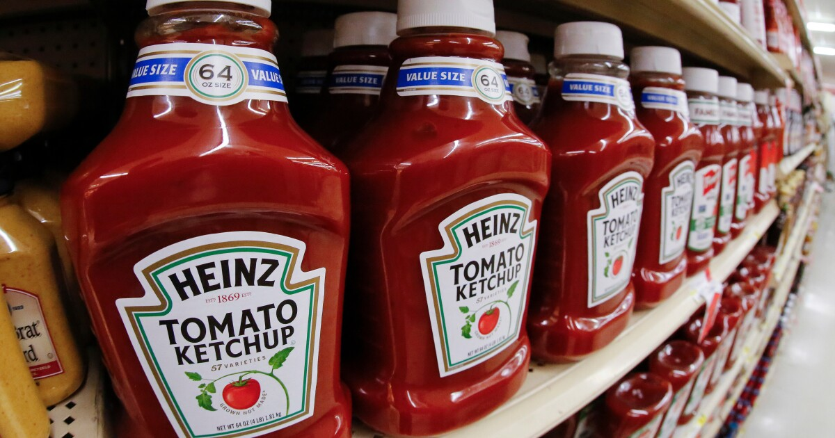 Pass the fry sauce, there's a serious ketchup shortage