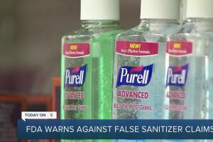 FDA to Purell: Stop claiming your hand sanitizers eliminate Ebola, flu