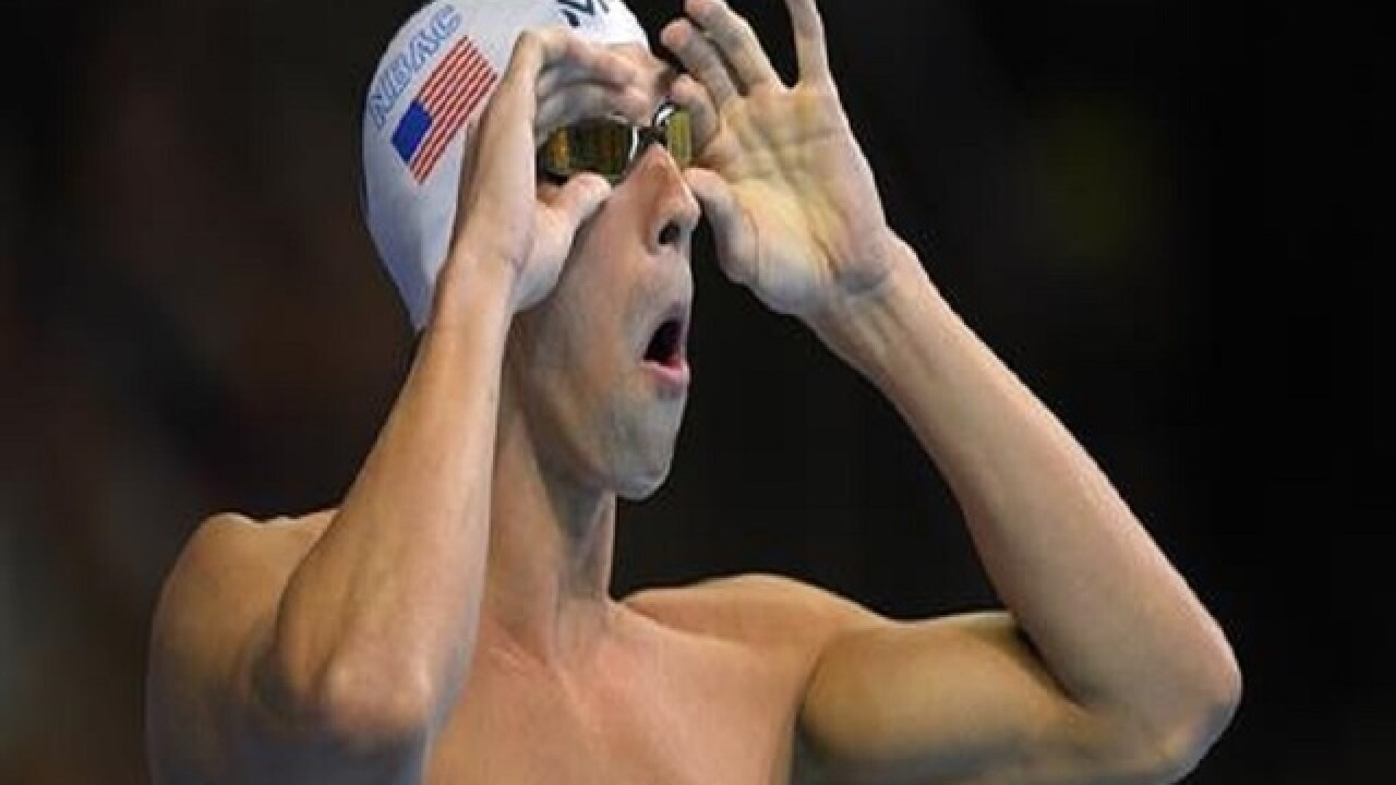 American swimmers Katie Ledecky, Michael Phelps win gold