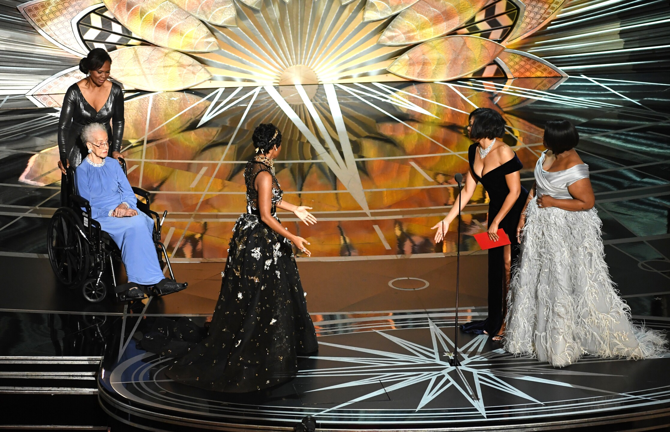 Photos: Hampton woman featured in 'Hidden Figures' honored at theOscars