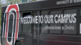 UNO campus bus university of Nebraska Omaha