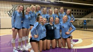 Grand Rapids Christian volleyball celebrates another state semifinal appearance