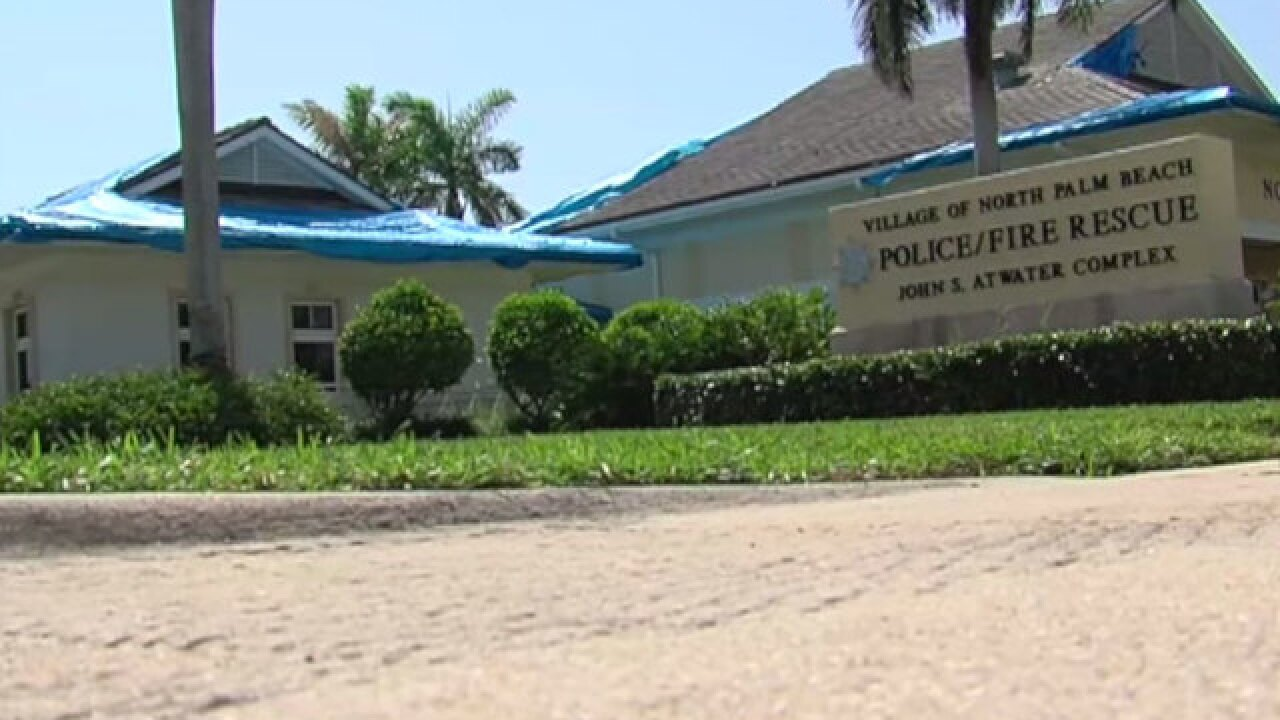 Village of North Palm Beach dealing with water and mold issues in public safety building