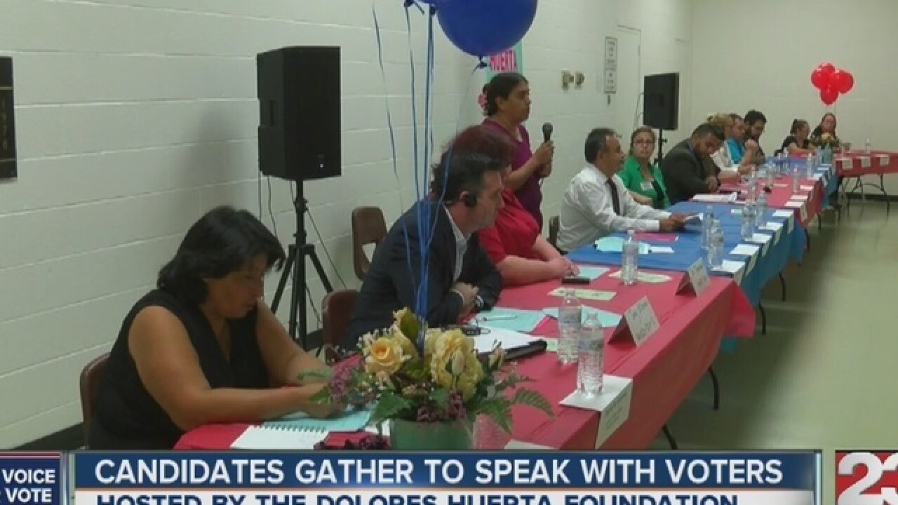 Candidate forum in Lamont