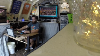 Creative teacher in Ohio converts old shed into remote learning classroom
