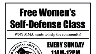 WNY MMA offering free women's self-defense classes
