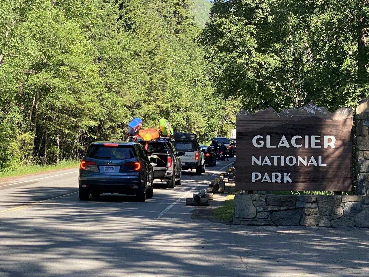 Glacier National Park Sun Road Opening