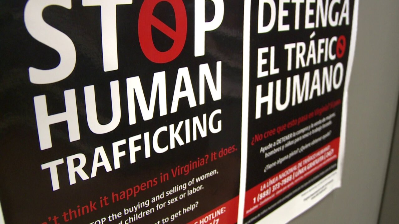 New laws aim to combat human trafficking in Virginia