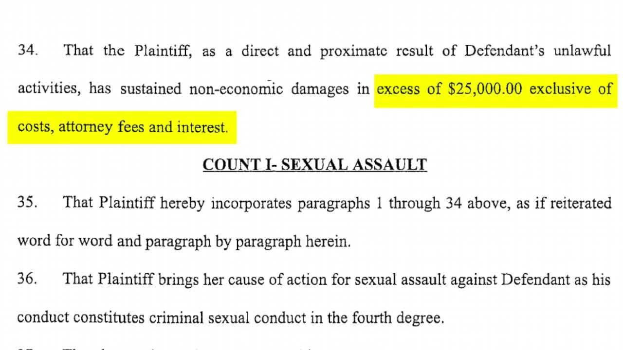 Lawsuit against Virg Bernero
