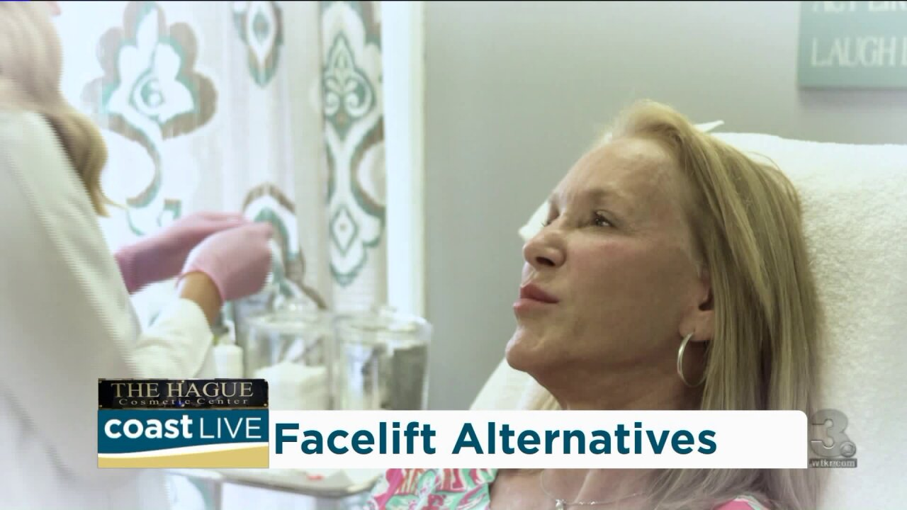 "Learning about the ""Liquid Facelift"" on Coast Live"