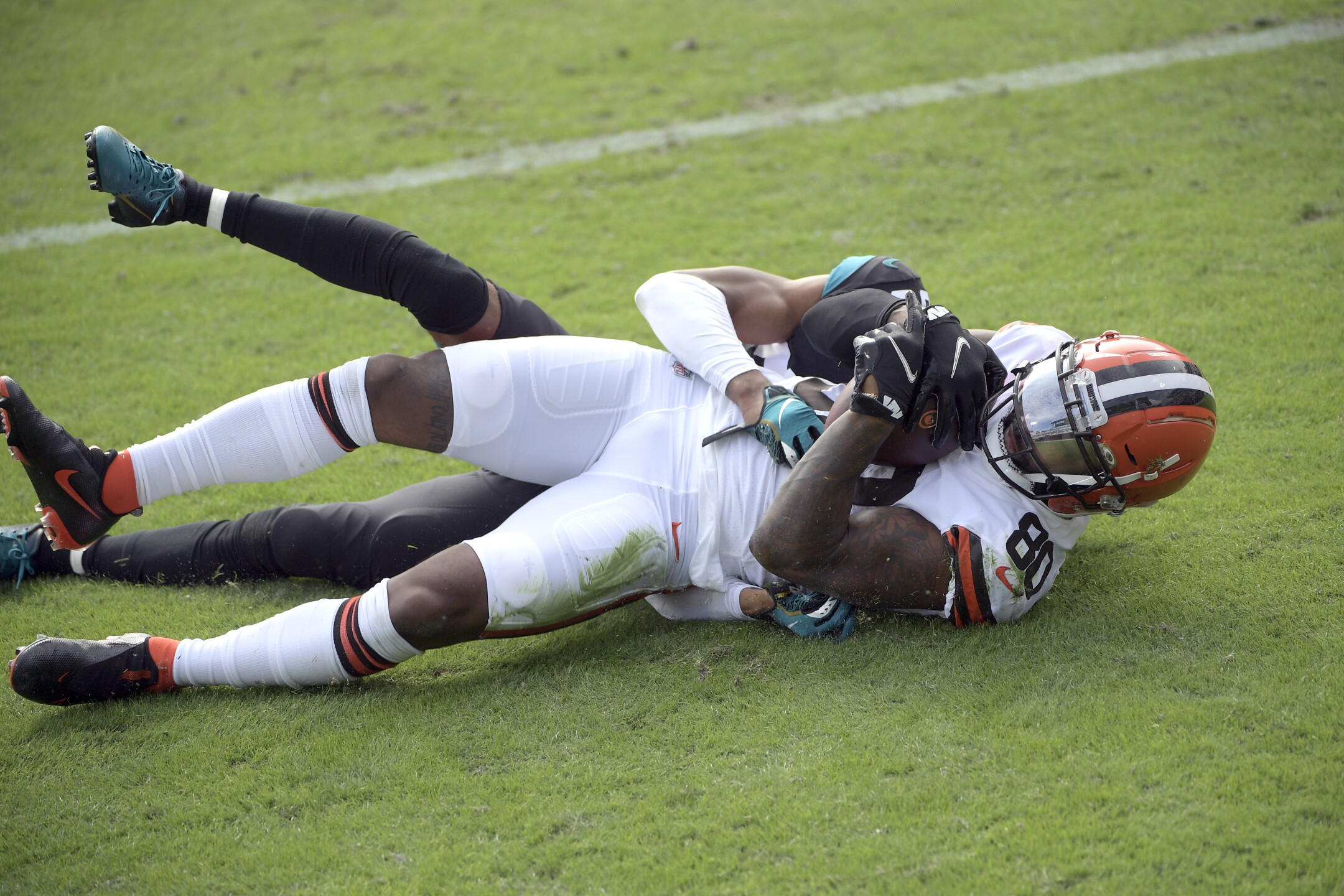 Browns Jaguars Football
