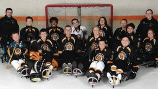 Tigers Sled Hockey Team