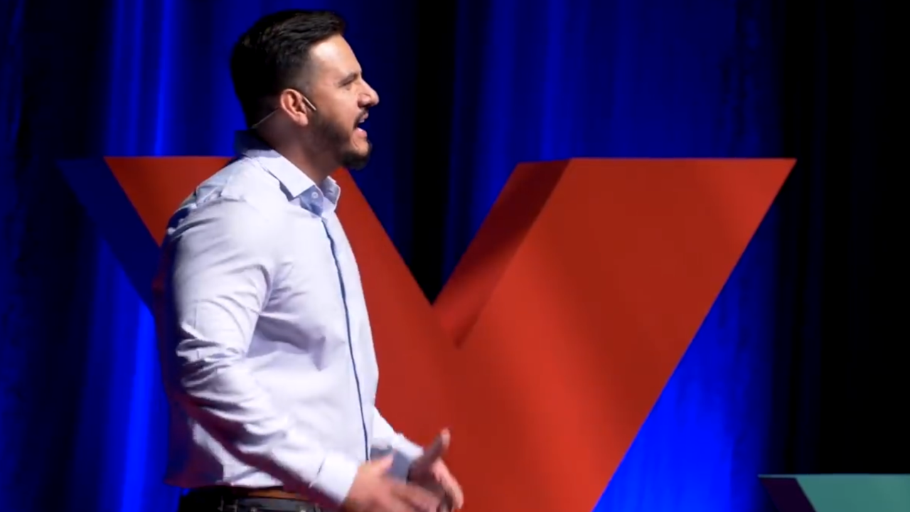Former MS-13 gang member leads TED Talk about violence prevention