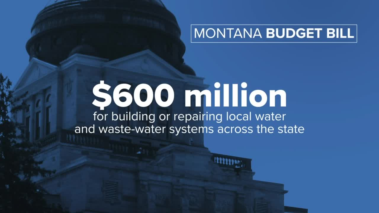 $600 million for water and waste water
