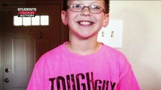 Students Taking Action: 12-year-old forms group to honor teacher who died from breast cancer
