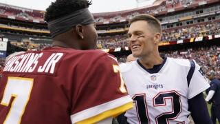 'Skins scoop: Tom Brady's message for Redskins rookie QB DwayneHaskins