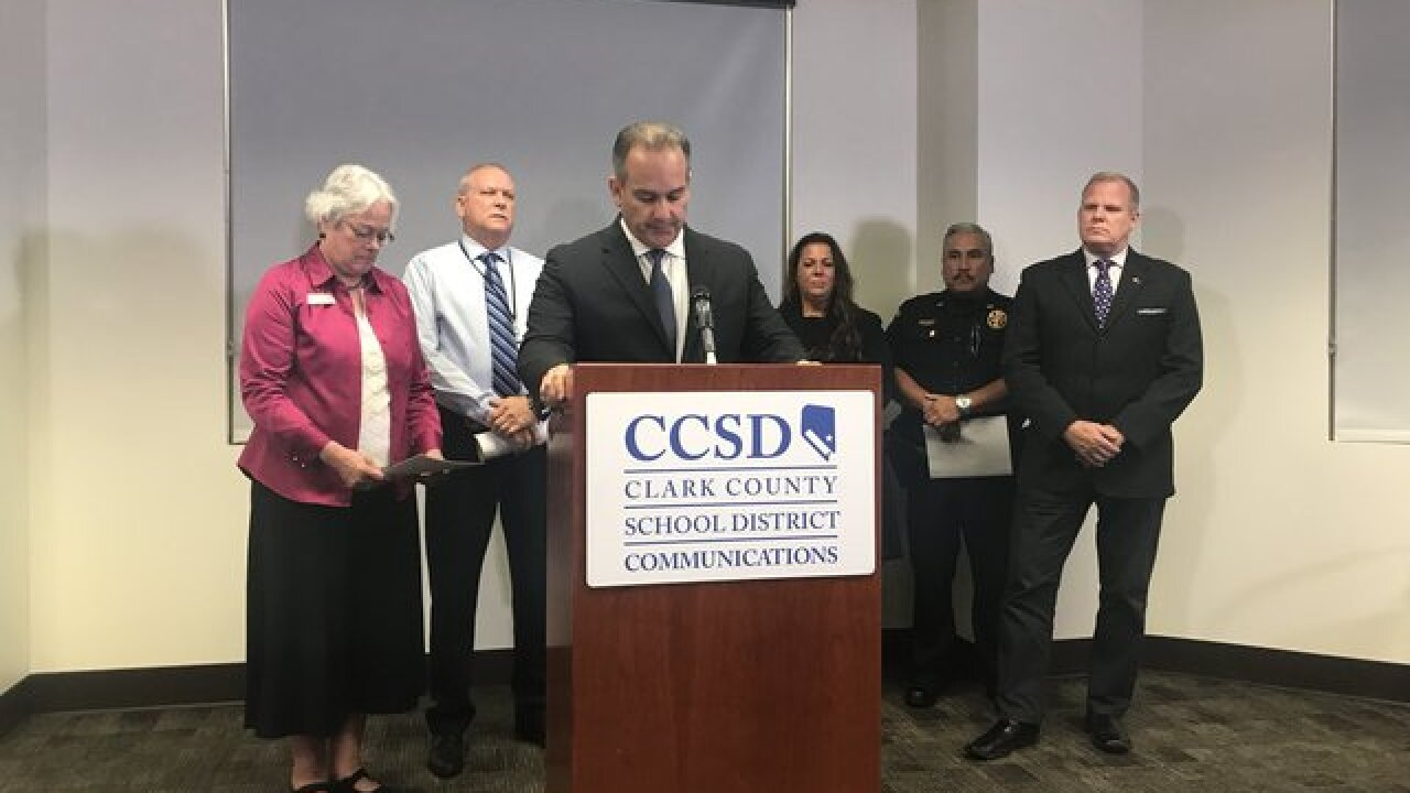 CCSD police discuss guns on campus, another gun found Wednesday at