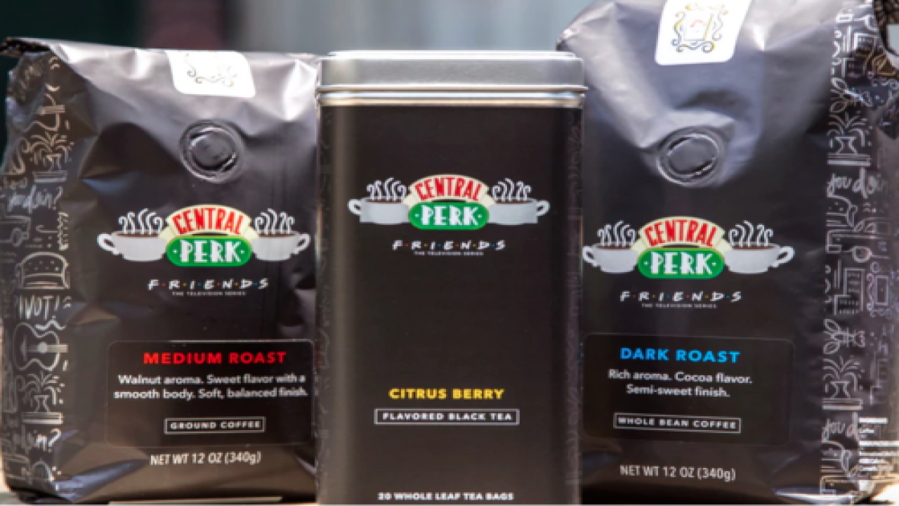 You Can Now Buy Coffee Inspired By Central Perk From 'Friends'