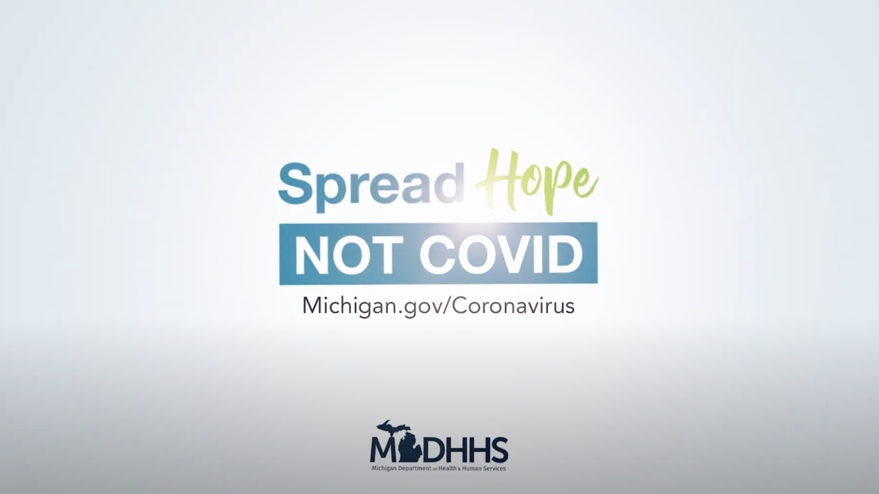 Spread Hope, Not COVID