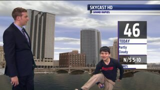 Congrats to Michael, March Weather Kid!