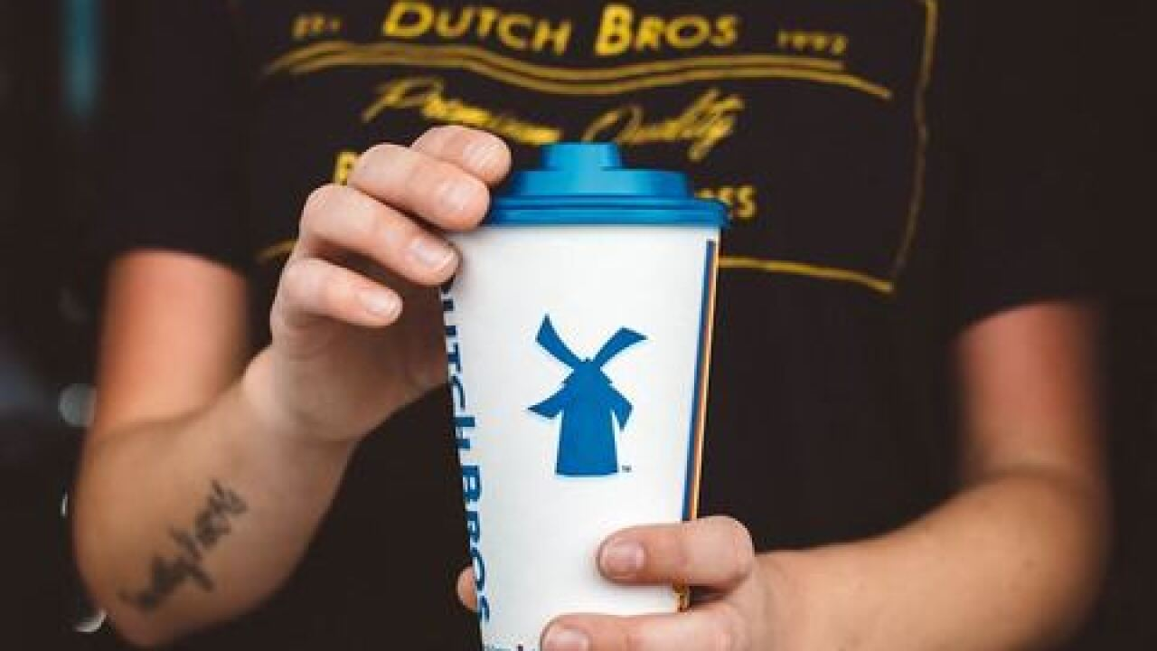 Dutch Bros. to donate all proceeds Friday to the Muscular Dystrophy Association