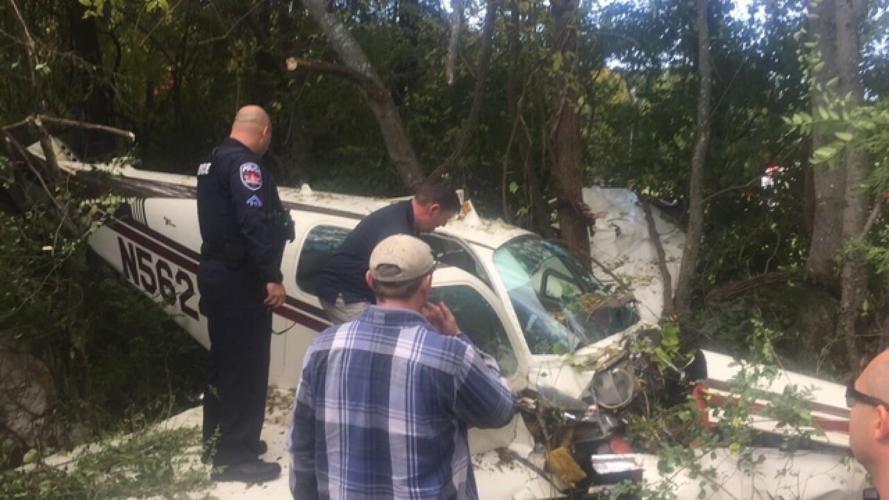 Single passenger plane crashes in Murfreesboro