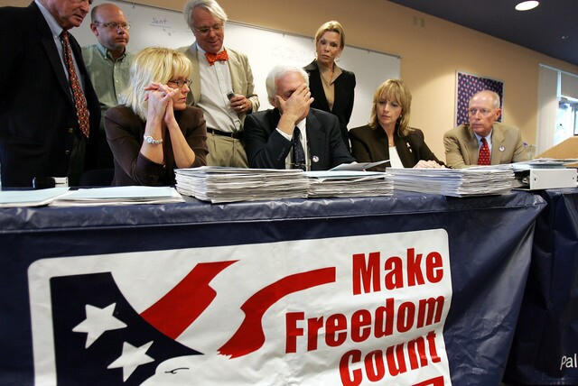 Looking back at the 2000 recount with Palm Beach County Canvassing Board in Bush v. Gore election