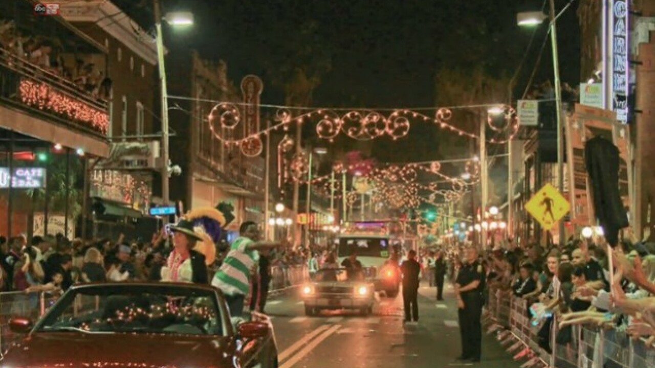 Sant' Yago Illuminated Knight Parade kicks off in Ybor City on February 10