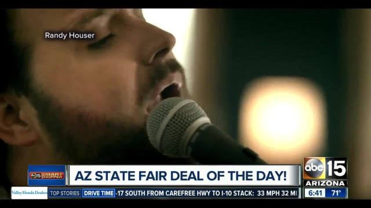 Get half off concerts at the AZ State Fair