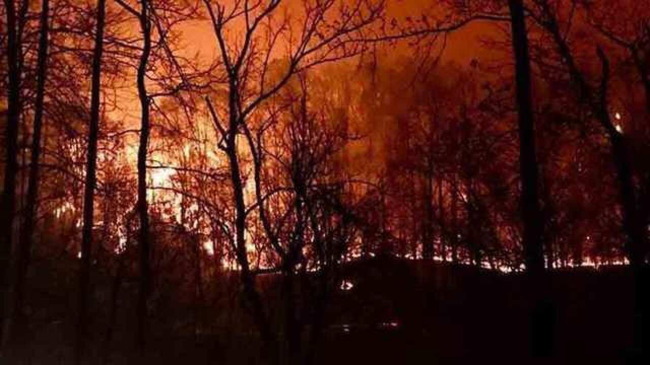 TN Wildfires Prompt Mandatory Evacuation
