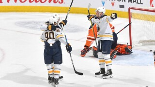 Sabres wrap up trip with 3-2 overtime win against Edmonton Oilers