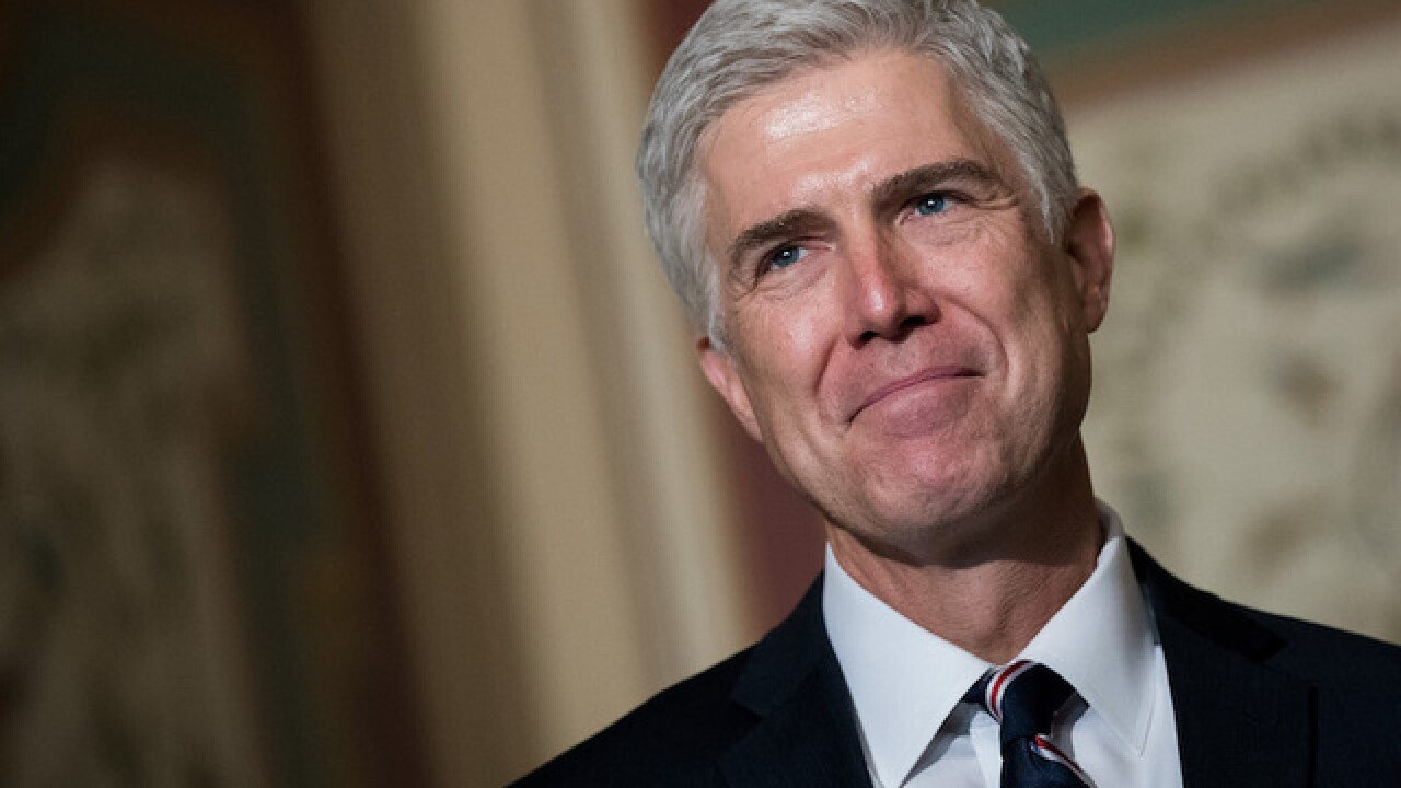 Democrats force one-week delay for committee vote on Gorsuch