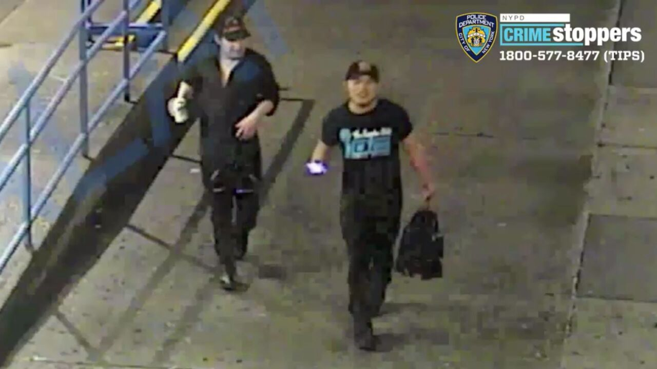 Two men wanted in violent attempted robbery: police