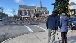 First Reformed Church of Kalamazoo Demolition