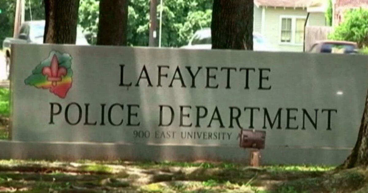 Lafayette Police Department.'