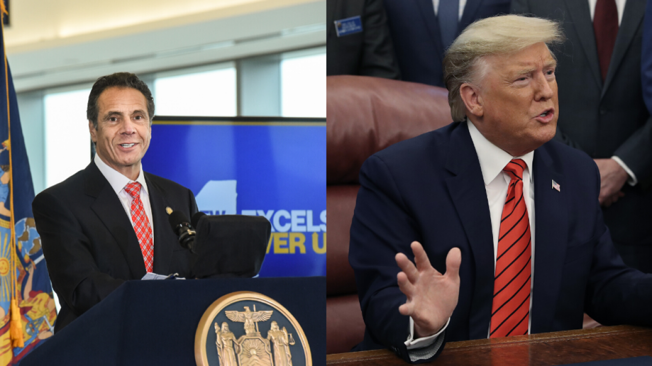 Gov. Cuomo to meet with President Trump to discuss Trusted Traveler Program, Thursday