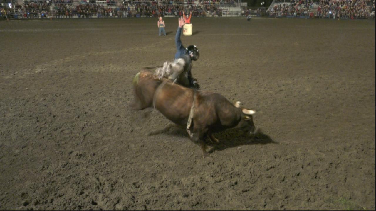 Highlights: Livingston Roundup bull riding – Day 1