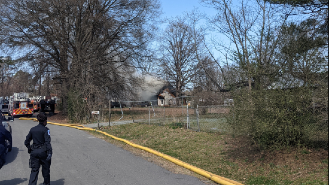 Labrook Drive fire
